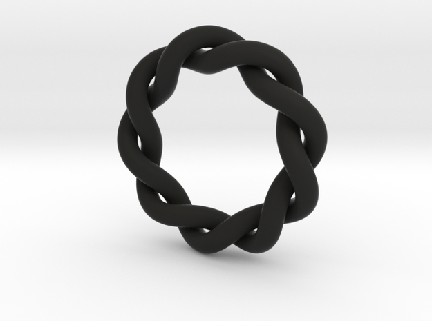 Size 7 Spiral Ring 3d printed
