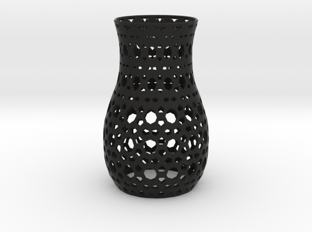 Tealight Sleeve Geometric - Small 3d printed