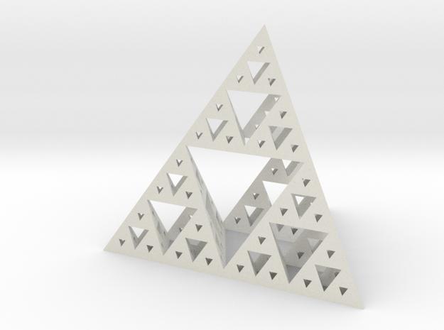 Sierpinski-tetrix in White Strong & Flexible