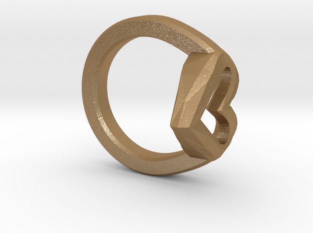 FLYHIGH: Open Heart Ring 15mm 3d printed