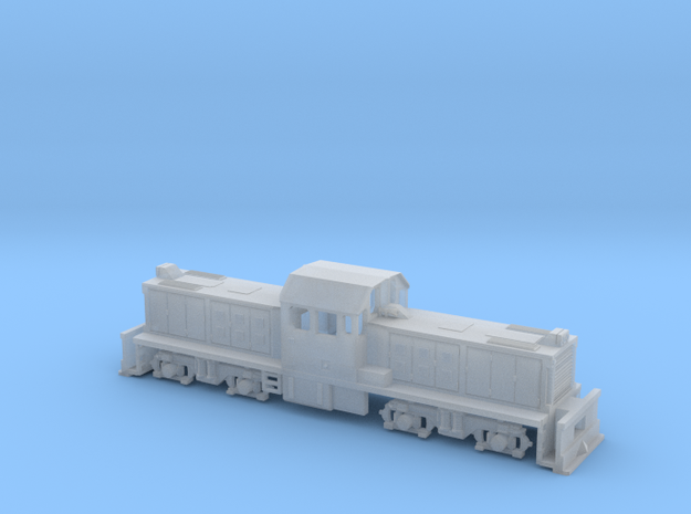 1:87 Scale DSG in Smooth Fine Detail Plastic