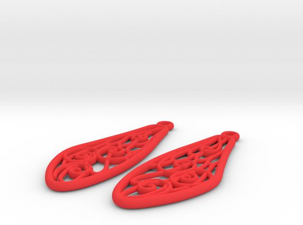 Smaller Fairytale Wing Earrings - nylon 3d printed