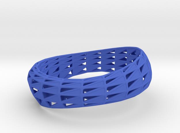 Bracelet Triangulado (sz S/M) 3d printed