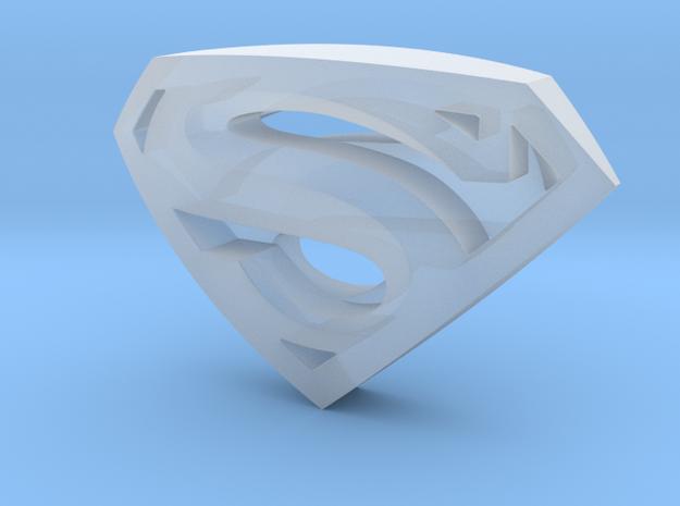 SupermanLogoII 3d printed