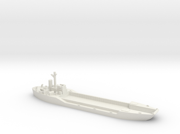 LCT-4 1/600 Scale in White Strong & Flexible