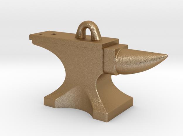 Anvil Pendant 3d printed