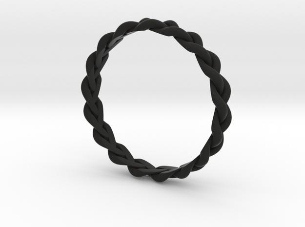 3 Strand Loose Ring 3d printed
