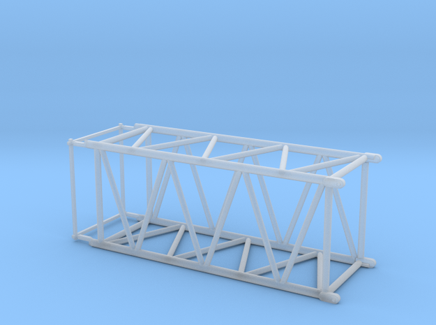 HO/1:87 Crane boom segment short 27.5x32.5 in Smooth Fine Detail Plastic