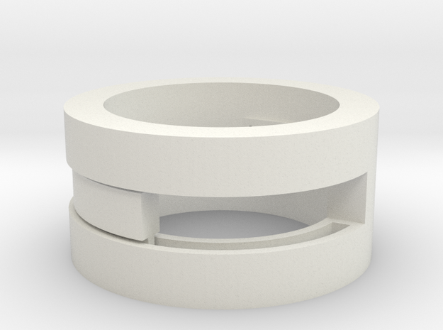 Slider-ring (medium) 3d printed In Alumide