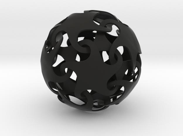 Dodecatron - Starfish ball (thin) 3d printed