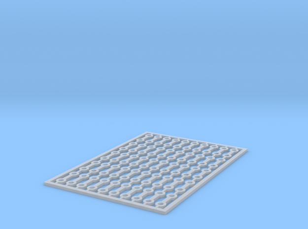 Kupplungseisen Bosna H0e in Smooth Fine Detail Plastic