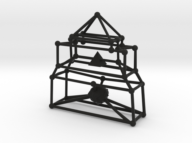 Stick Heart Altar 3d printed