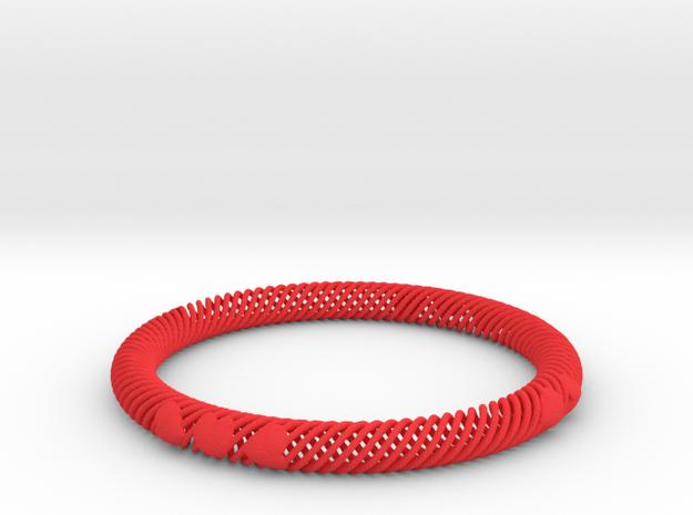 Bracelet Flexible 10 Hearts - 8mm