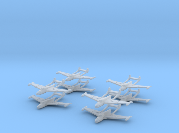 1/400 D.H.112 Sea Venom (x8) 3d printed