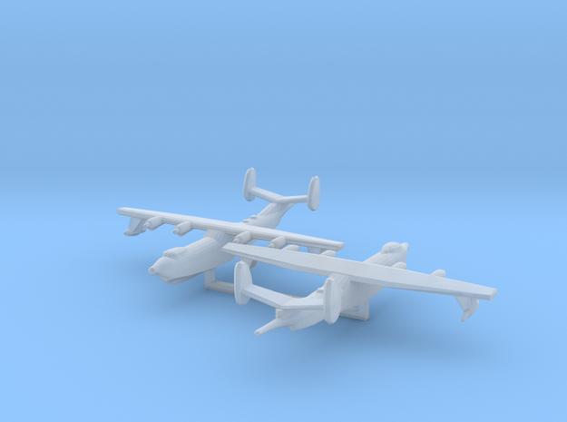 1/700 Harbin SH-5 x2 3d printed
