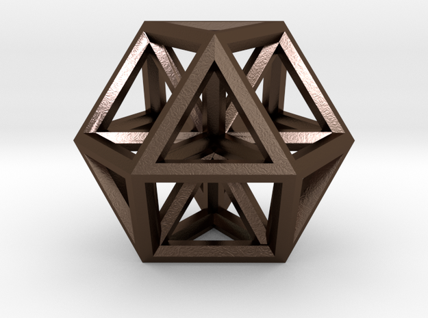 Large Vector Equilibrium 3d printed