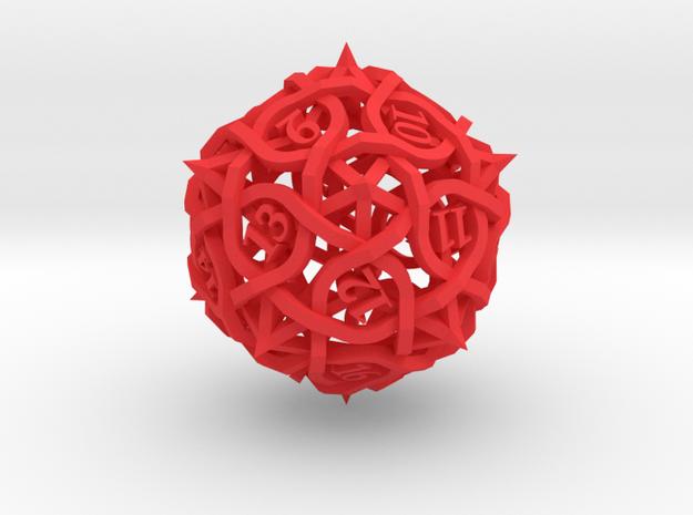 Spindown Thorn Die20 3d printed