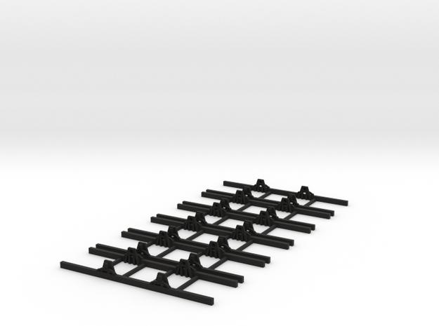 OO9 Underframe 5ft 6  wb x6 3d printed