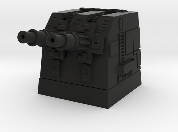 Turbolaser Short Turret 1/270 3d printed