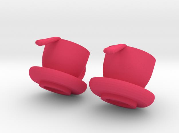 Cup O' Joe Earrings 3d printed