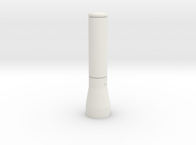 1/10 Scale Maglite Flashlight 3d printed