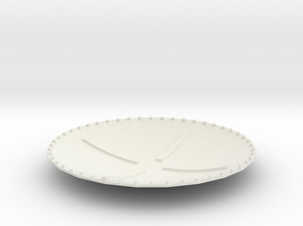 Macchina del tempo - parte 6 di 6 in White Natural Versatile Plastic
