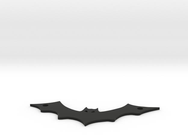 Bat pendant in Black Strong & Flexible