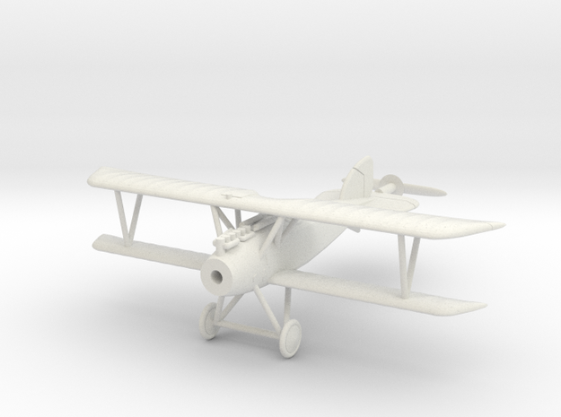 1/144 Albatros D.III in White Strong & Flexible