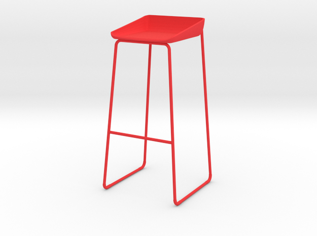 Steelcase Scoop Stool 3d printed