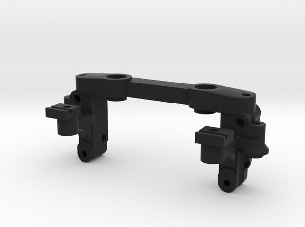 Reactive A-arm mount v3 for Mini-z MR03 in Black Strong & Flexible