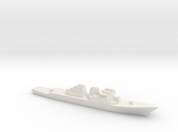 Arleigh Burke 1:2400 in White Natural Versatile Plastic