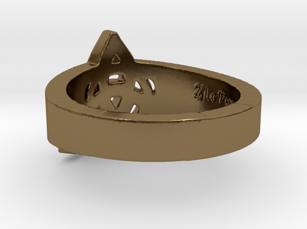 """""""Charmed"""" Inspired Ring - Size 9 Ring Size 9 3d printed"""