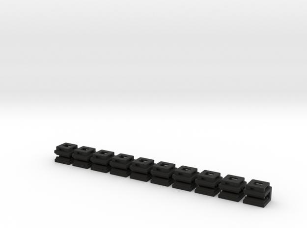 Zip Tie Clip Pack of 10 3d printed