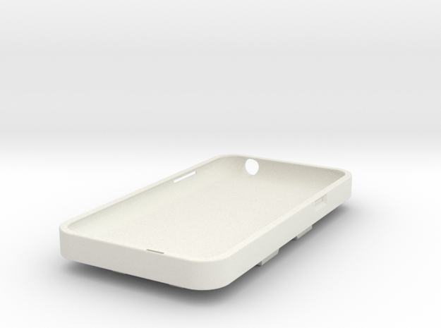 Cell Phone Cover For Bike Short in White Strong & Flexible