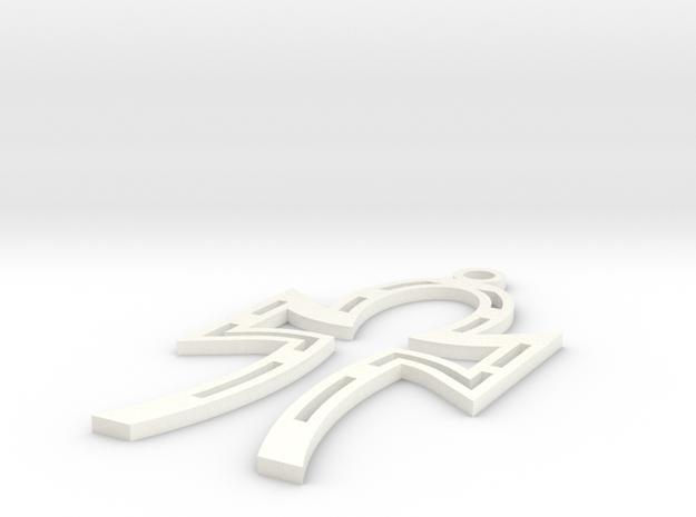 Eternity Pendant 3d printed