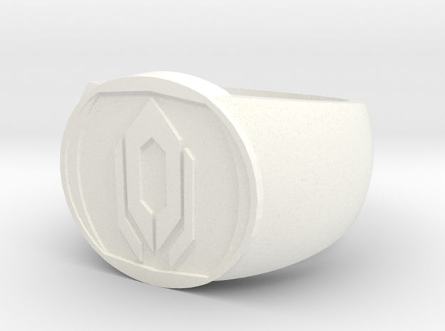 Cerberus Ring (size 8) 3d printed