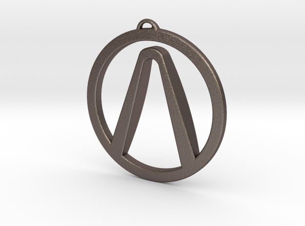 Borderlands Symbol Pendant 3d printed