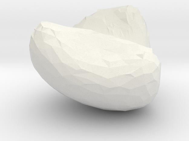 frank in White Natural Versatile Plastic