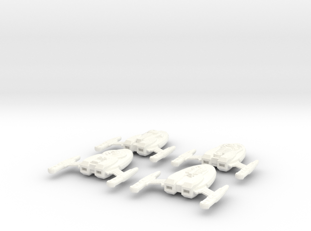 Captains Yacht 4-Pack (variations) 3d printed