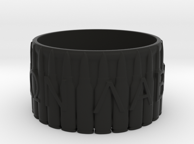 MOLON LABE, Come And Take Them, Ring Size 13 3d printed