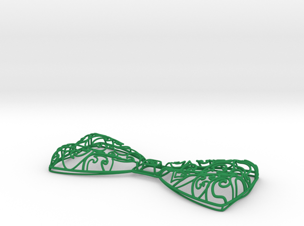 Victorian Vines Bow Tie 3d printed