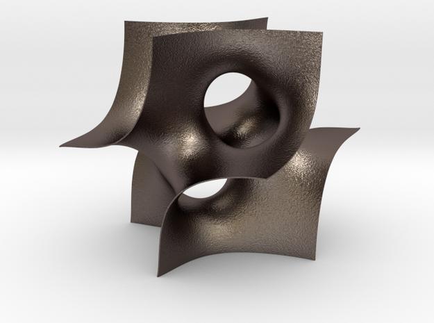 Batwing sculpture, 15cm (6 inch) 3d printed