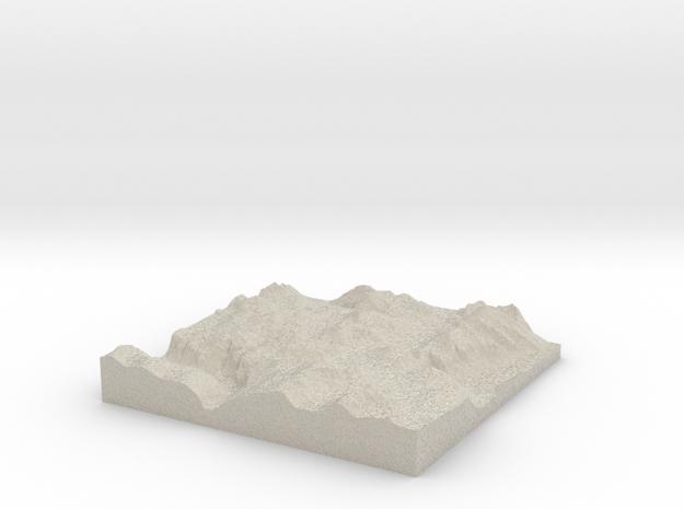 Terrafab generated model Fri Sep 27 2013 11:16:21  3d printed