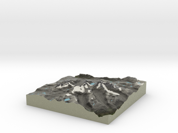 Terrafab generated model Fri Sep 27 2013 11:52:51 3d printed