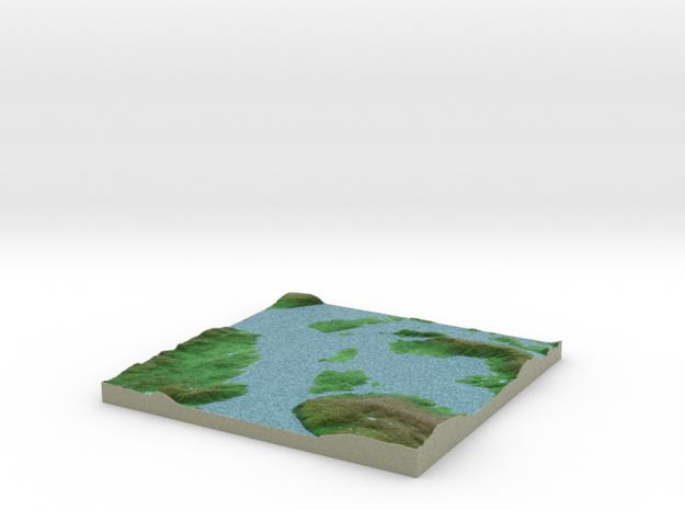 Terrafab generated model Fri Sep 27 2013 14:39:57 3d printed