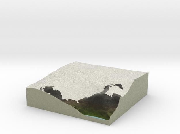 Terrafab generated model Fri Sep 27 2013 15:07:31 3d printed