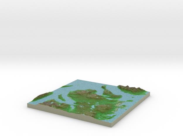 Terrafab generated model Fri Sep 27 2013 18:29:04 3d printed