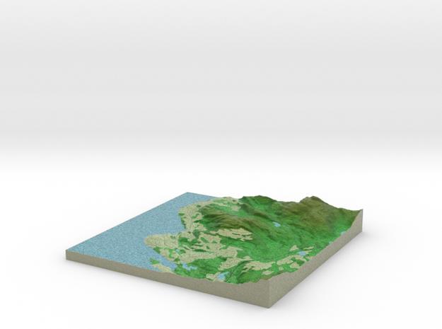 Terrafab generated model Fri Sep 27 2013 20:09:17 3d printed