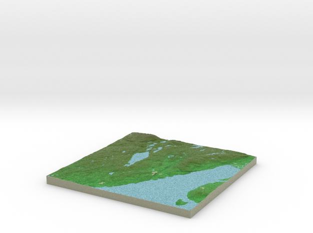 Terrafab generated model Fri Sep 27 2013 22:24:23 3d printed