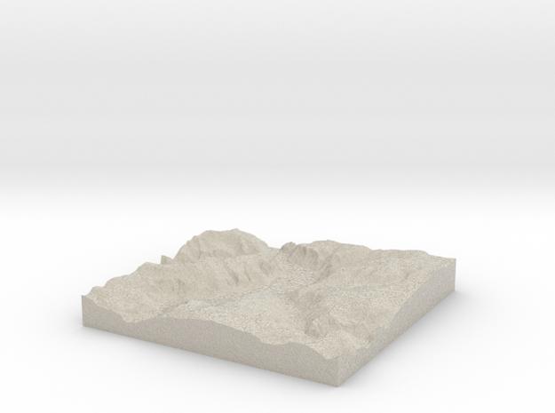 Terrafab generated model Sat Sep 28 2013 20:28:30 3d printed